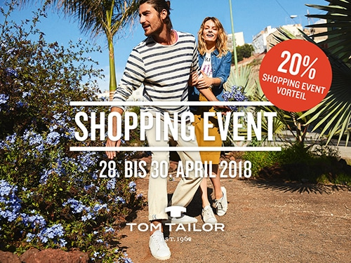 Shopping Event bei TOM TAILOR