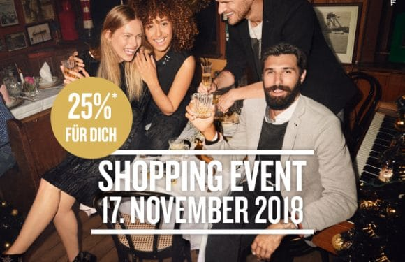 TOM TAILOR SHOPPING EVENT AM 17. NOV. 2018