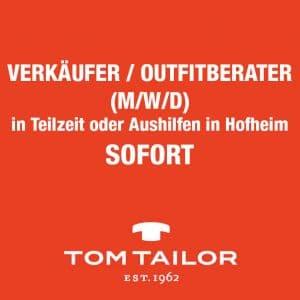STELLENAUSSCHREIBUNG. VERKÄUFER / OUTFITBERATER (M/W/D)