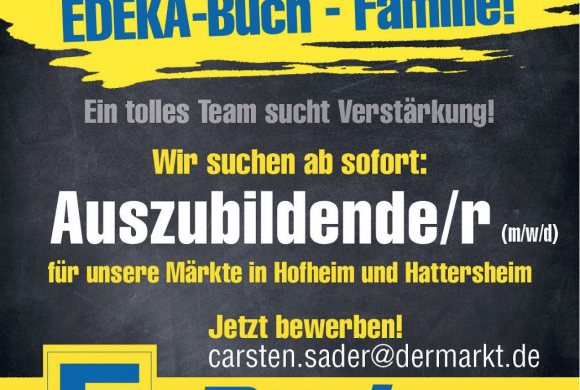 AUSZUBILDENDE GESUCHT!