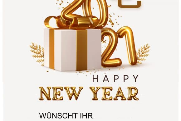 HAPPY NEW YEAR WÜNSCHT IHR CHINON CENTER